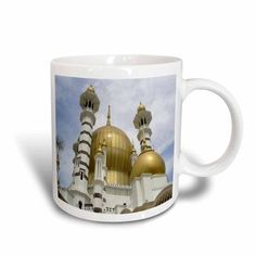 3dRose Islamic Mosque Of Cordova, Ceramic Mug, 15-ounce