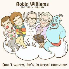 Robin Williams by islandboy1.deviantart.com on @DeviantArt