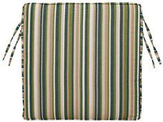 Box-Edge Square Outdoor Chair Cushion