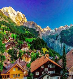Wengen, Switzerland - Travel Pedia Accessible from Bern, Switzerland The Places Youll Go, Places To See, Wengen Switzerland, Switzerland Trip, Zermatt, Montana, Wonderful Places, Beautiful Places, Places To Travel