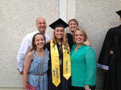 Elise's graduation