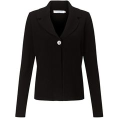 John Lewis Reverse Collar Cardigan ($89) ❤ liked on Polyvore featuring tops, cardigans, black, cashmere v neck cardigan, v-neck cardigan, double layer top, short-sleeve cardigan and cashmere top