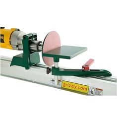 Hobby Lathe/Disc Sander | Grizzly Industrial