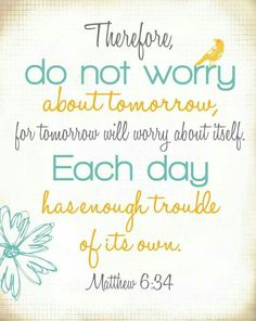 DO NOT WORRY!