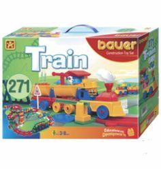 Bauer (Кроха) Железная дорога 271 элементов