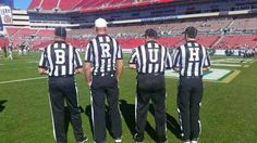 cool PHOTO: The Most Jersey Shore Referees in College Football | FatManWriting...