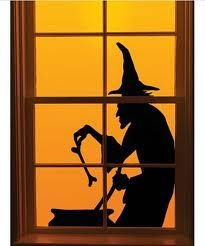 halloween window decorations - Google Search