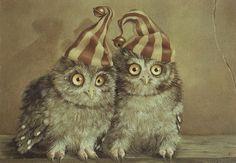 My Owl Barn: Suzan Visser's Surreal Art
