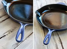 easy steps on how to care for a cast iron pan/skillet.