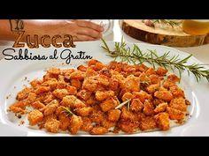 ZUCCA SABBIOSA AL GRATIN ricetta facile e veloce BAKED PUMPKIN GRATIN - YouTube Chana Masala, Angel, Ethnic Recipes, Youtube, Food, Vegetables, Essen, Meals, Youtubers