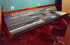 "NEVE 8048 CONSOLE - ""when first started recording school in 1975 in CA, the NEVE BOARD and STUDER TAPE MACHINE was the state of the art. Decades later Neve/Studer is still my ultimate analog combination. I cut a few albums on Neve/Studer set-up at Inner City/One World Studio in Boston in the 90s and still dream of having my own NEVE - STUDER rig.... plugged into mega Pro Tools HD rig."" -  BTM"