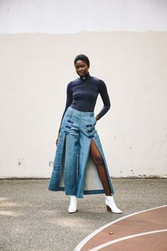 2ba6b2f113b Willie Overall Pants Denim Culottes