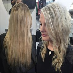 "Meg Willes on Instagram: ""@lucelambert before and after her appointment today 
