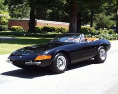 Ferrari 365 GTS4 Daytona Spyder <3             On My Bucket List to hopefully own (or drive or even ride in...lol) before my time comes :)