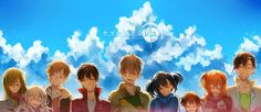 Kagerou Project, Kisaragi Shintaro, Kido Tsubomi, Kano Shuuya, Amamiya Hibiya summertime record