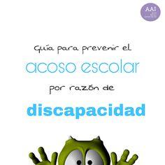 Aula de Apoyo a la Integración: Guía para prevenir el acoso escolar por razón de d...