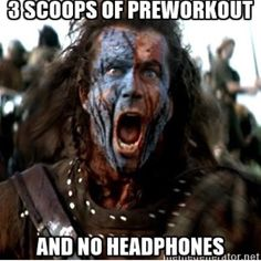 Braveheart Battle Of Stirling Full Scene [Blu-Ray] Workout Memes, Gym Memes, Workout Fun, Fitness Jokes, Fitness Motivation, Funny Fitness, Scotlands National Animal, Gym Humour, Hr Humor