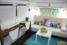 """Airstreamy"" 1974 31ft Airstream Sovereign (many renovation photos)"
