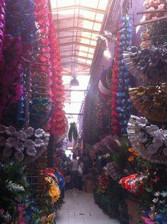 Mercado de las Flores en La Merced