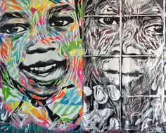 Street Art for Mankind Battles Child Slavery with: Bruno Smoky & Shalak Attack, Mr. Cenz, Mr. Dheo, Victor Ash, Jo Di Bona, Trek6 and more