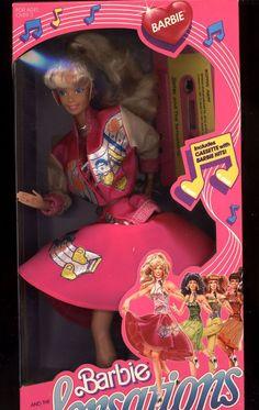 Barbie and The Sensations in original Box, 1987