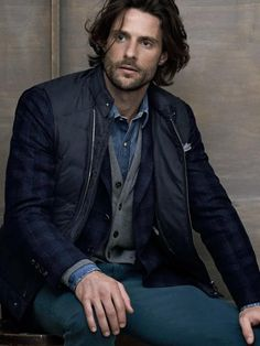 Tommy Dunn for Brunello Cucinelli F/W 2013 Look Fashion, Mens Fashion, Sophisticated Hairstyles, Brunello Cucinelli, Haircuts For Men, Beautiful Men, Hot Guys, Hot Men, Gentleman