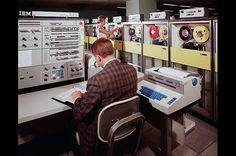 IBM System/360, 1964 This machine was part of a family of interchangeable computers. For the first time, customers were able to enlarge or shrink