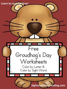Classroom Freebies Too: Free Groundhog's Day worksheets