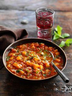 Indische Gemüsesuppe mit roten Linsen - smarter - Zeit: 20 Min. | eatsmarter.de