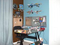 skate board Teenage Boy Bedroom Ideas   ... or jacket. Tyler just loves his big boy desk., Boys' Rooms Design