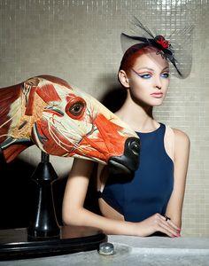 Lucia Giacani's Interesting-Yet-Bizarre Fashion Photos Of Models And Animal Anatomy - Beautiful/Decay Artist & Design