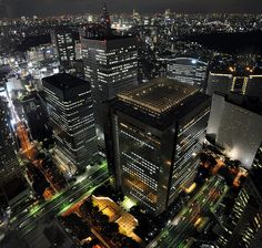 Observatory of the Tokyo City Hall (Government Building), Tokyo Tower