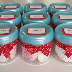 little felt sugar cookies in jars!  Oh my.
