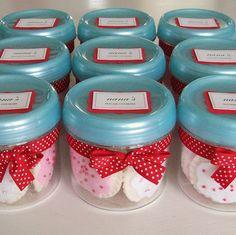 little felt sugar cookies in jars!  Oh my. #Felt_food #Pretend #Kids #Toys