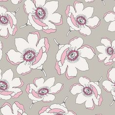 Cherie Plummet Magnolia by Frances Newcombe for Art Gallery Fabrics