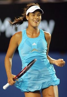 Ana Ivanovic is back on top of her game with her wicked forehand, a much more reliable and big serve, better court coverage, and well-earned confidence. Her return of serve against Serena Williams, considered the best server in women's tennis ever, was stunning. Ana took out world #1 in 3 sets at the 2014 AOP - her first ever win over Serena.