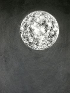 Ian Hodgson - Heart of Glass 7 pinned with Bazaart Graphite Art, Graphite Drawings, Mirror Ball, Pastel Drawing, Disco Ball, Elements Of Art, Monochrome, Pop Art, Art Photography