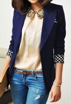 stylish lapel jacket