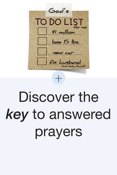 Question of the Day: Why doesn't God answer my prayers? Read answer here: http://www.kcm.org/read/question-of-the-day?field_questions_date_value%5Bvalue%5D%5Bdate%5D=April+18