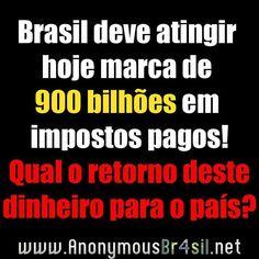 Brasil deve atingir hoje marca de R$ 900 bilhões em impostos pagos