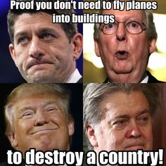 Unless they are stopped, these men and others in the present time could be the proof of prior historic statements that the USA will be destroyed from within ...