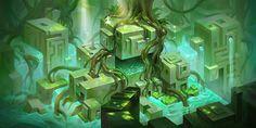 green, Erin Lin on ArtStation at https://www.artstation.com/artwork/LJZ50