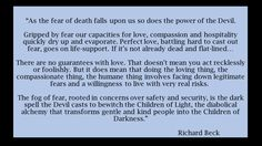Richard Beck on Fear of Death