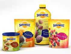 Sunsweet: Assorted Products exhibiting natural-light soft-focus editorial photography.