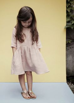 A sweet muted pink dress | Louis Louise S/S 2014
