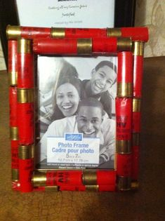 craft ideas with gun shells | Crafts Made with Shotgun Shells | ... frame.. love!!! gonna make some ...