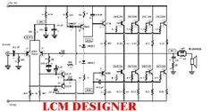 Projeto de um amplificador de 400 Watts RMS utilizando 8 transistores a fonte está mesma placa do amplificador Аудіо, Технології, Колонки, Педикюр Diy Amplifier, Speaker Plans, Electronic Schematics, Audio, Circuit Diagram, Circuit Board, Electronics Projects, Home Theater, How To Plan