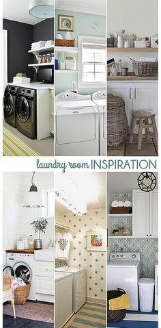Small Laundry Room Inspiration