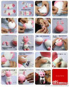 DIY Stubborn Sock Rabbit DIY Stubborn Sock Rabbit
