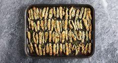 Κολοκυθάκια τηγανητά στον φούρνο Συνταγή | Άκης Πετρετζίκης Grill Pan, Zucchini, Side Dishes, Grilling, Sweet Home, Cooking Recipes, Favorite Recipes, Diet, Food
